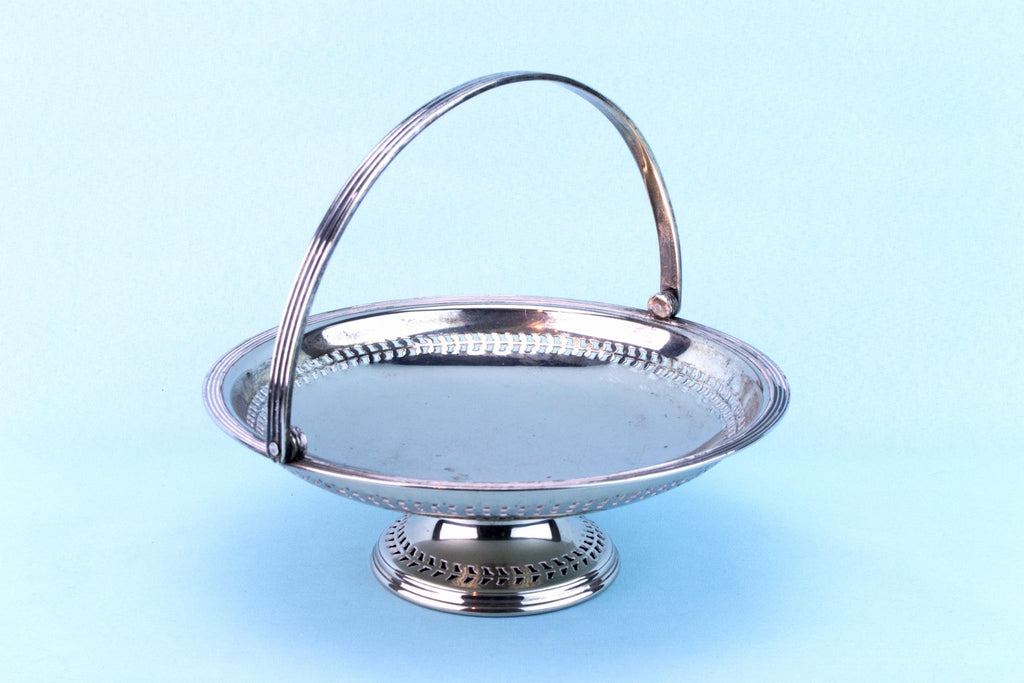 Silver Plated Serving Dish, English 1930s
