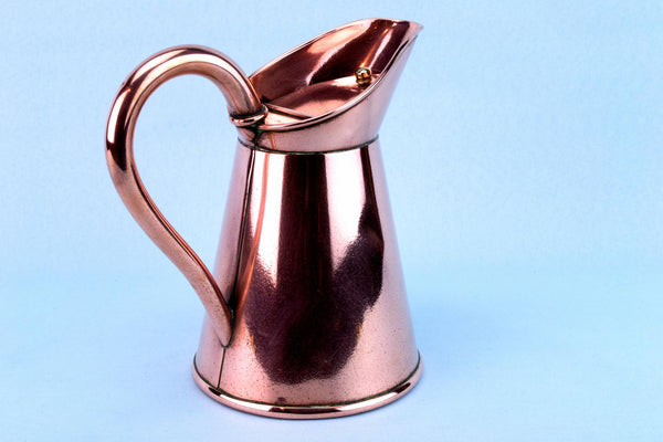 Arts & Crafts Copper Jug, English Circa 1900