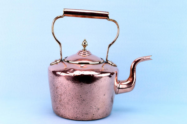 Hot Water Copper Kettle, English 19th Century
