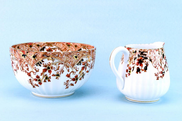 Milk & Sugar Set, English Circa 1900