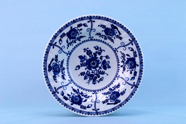 6 Blue and White Bowls by Johnson Brothers