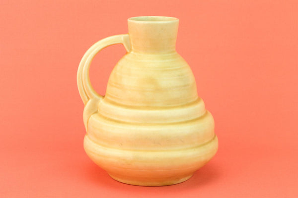 Crown Ducal Art Deco Jug, English 1940s