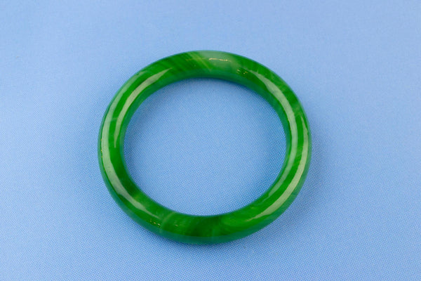 Peking Glass Green Bracelet