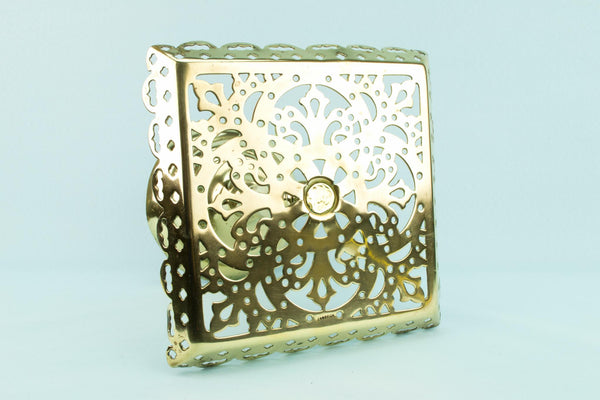 Polished Brass Stand, English Victorian Circa 1890