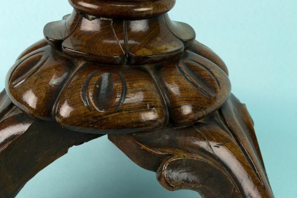Mahogany Tripod Stand, English Mid 19th Century