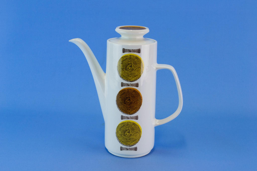 Large Meakin Coffee Pot, English 1960s