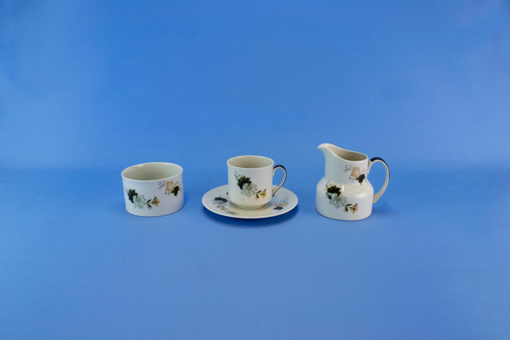 Tea Set for 6 by Royal Doulton, English Circa 1960