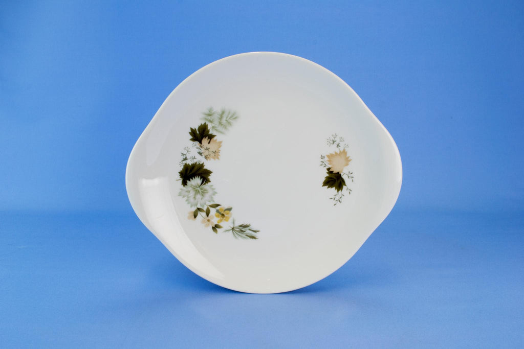 Medium Cake Serving Plate by Royal Doulton, English Circa 1960