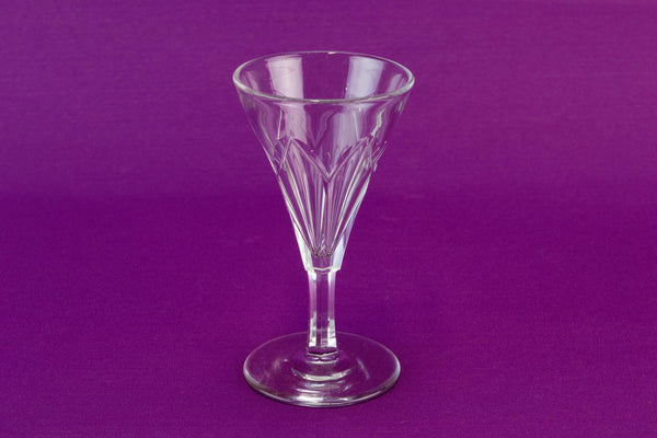 Victorian Port Glass, English 19th Century