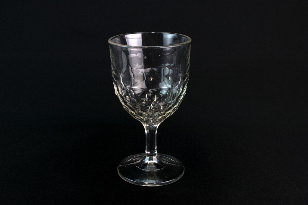 Victorian Beer Stem Glass, English 19th Century