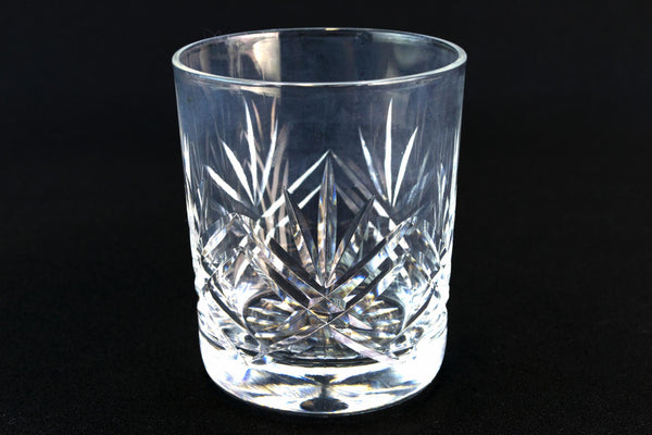 4 Small Cut Glass Tumblers