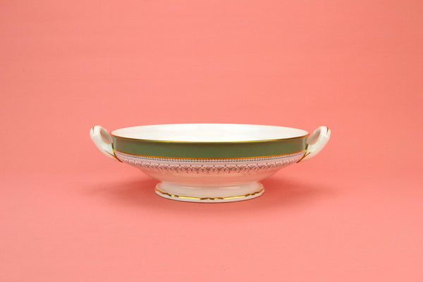Regency Serving Bowl by Royal Worcester, English 1970s