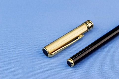 Aurora Sterling Silver Fountain Pen 14ct Gold