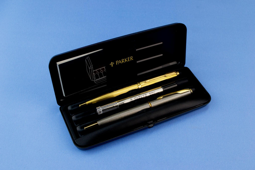 Two Parker Ballpoint Pens in a Box