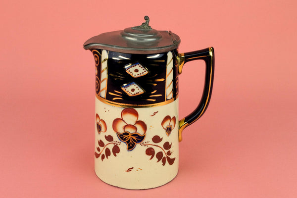 Gaudy Welsh Jug by Sadler, English 1930s