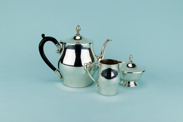 Silver Plated Tea Set by Oneida