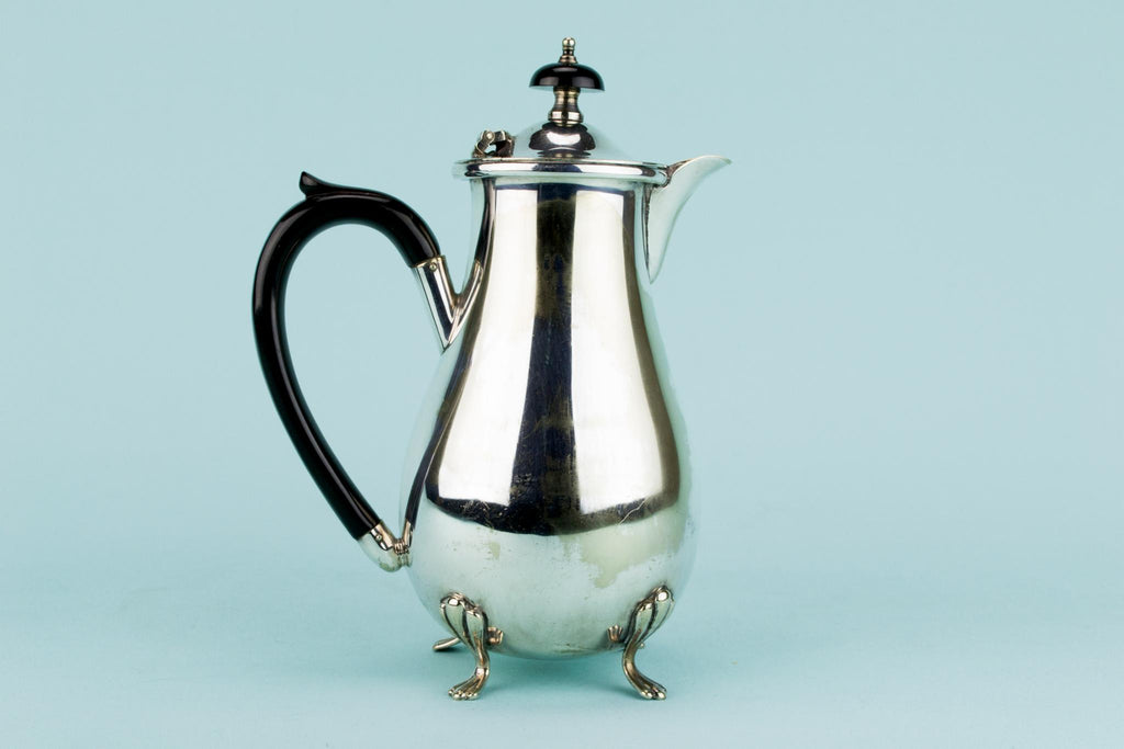 Silver Plated Tea and Coffee Set, English Circa 1930