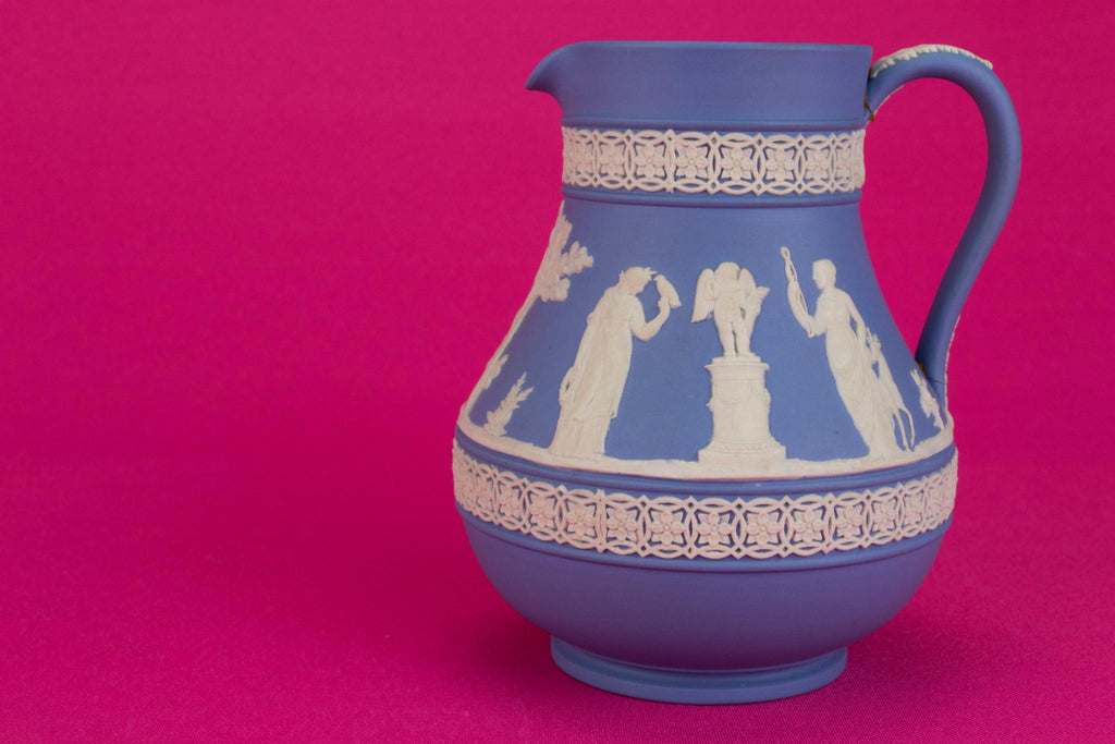 Jasperware Milk Jug by Wedgwood, English 1950s