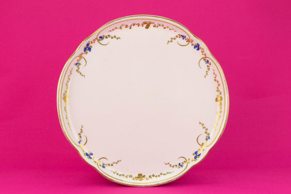 Tea Serving Tray in Porcelain, Early 1900s