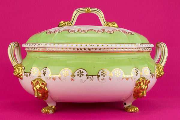 Large Tureen by Bloor Derby, English 1830s