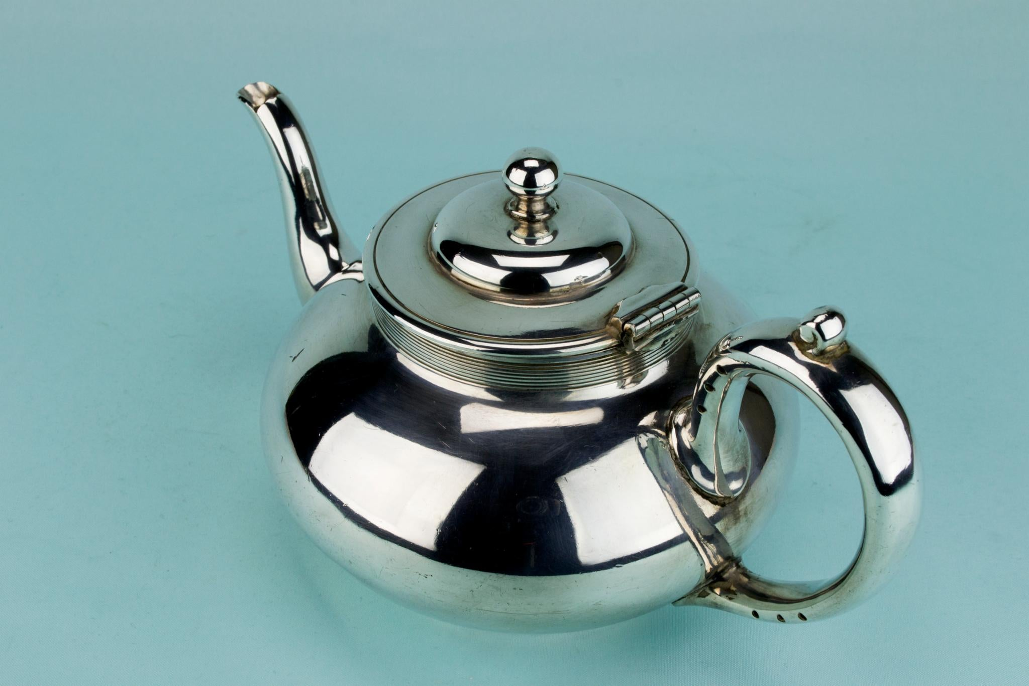 Tea and Coffee Set Silver Plated, English Circa 1900