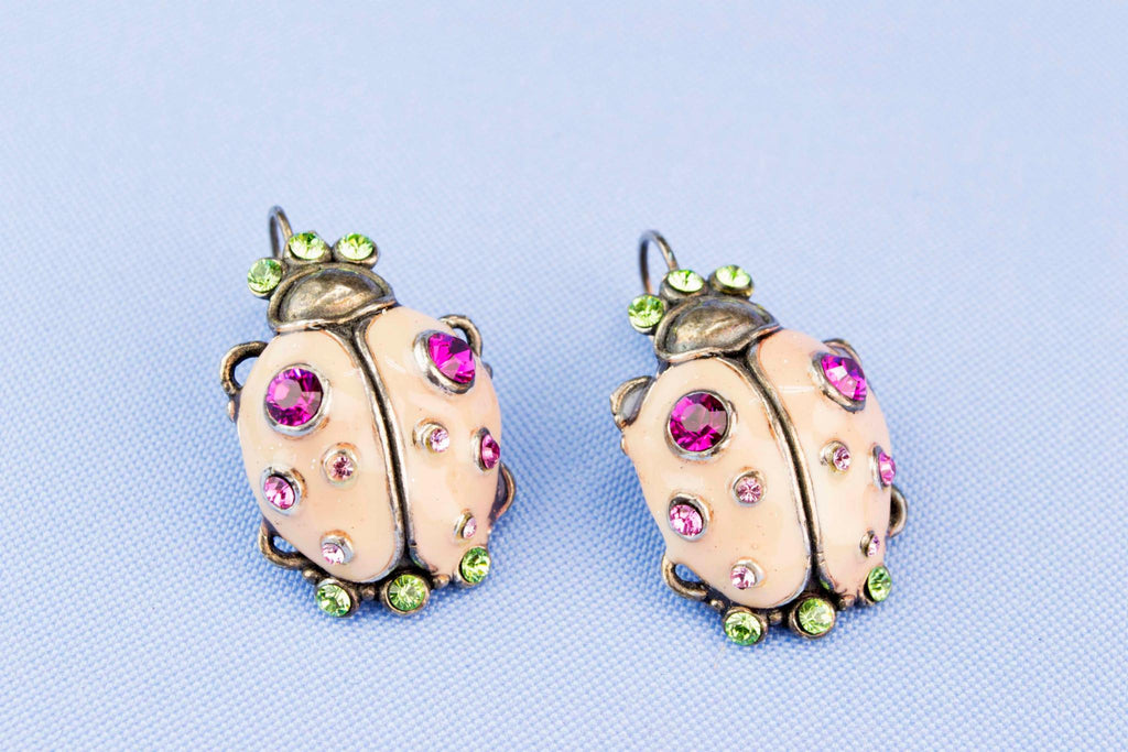 French Bug Earrings