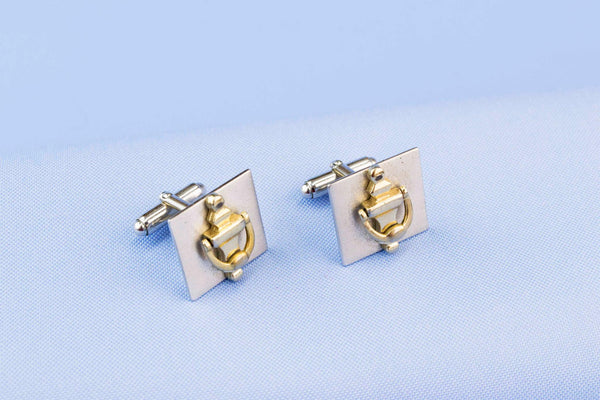 Cufflinks Door Knocker Design 1960s