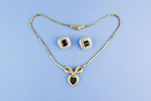 Necklace and Earrings Set by Attwood & Sawyer, English 1970s