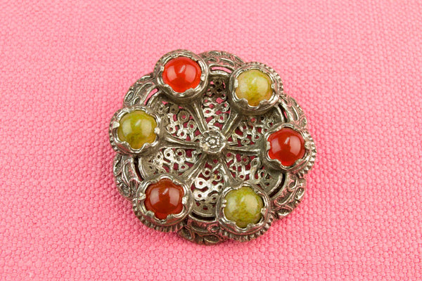 Celtic Style Brooch, Scottish 1950s