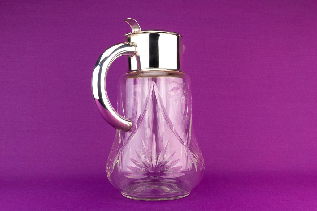 Massive Glass Carafe Cooler