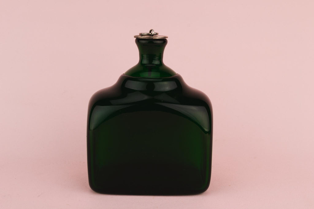 Green Glass Decanter, English Circa 1840
