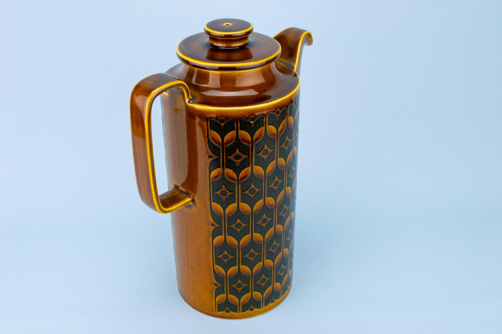 Tall Coffee Pot by Hornsea, English 1970s