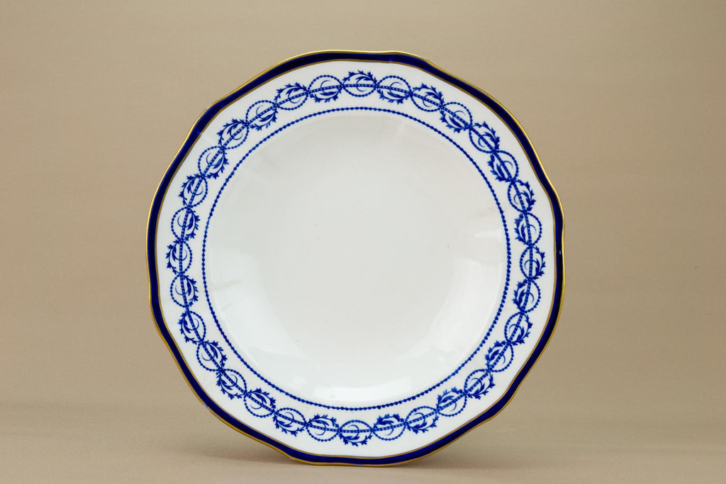 Royal Crown Derby Dinner Bowl, English Early 1900s