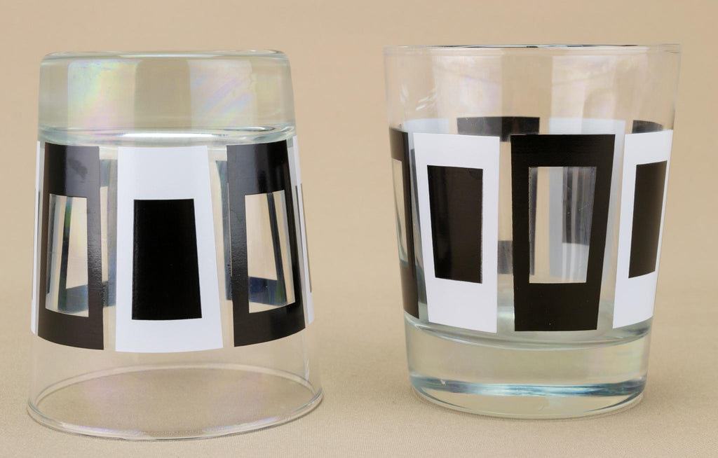 Two Whisky Glasses, English 1960s