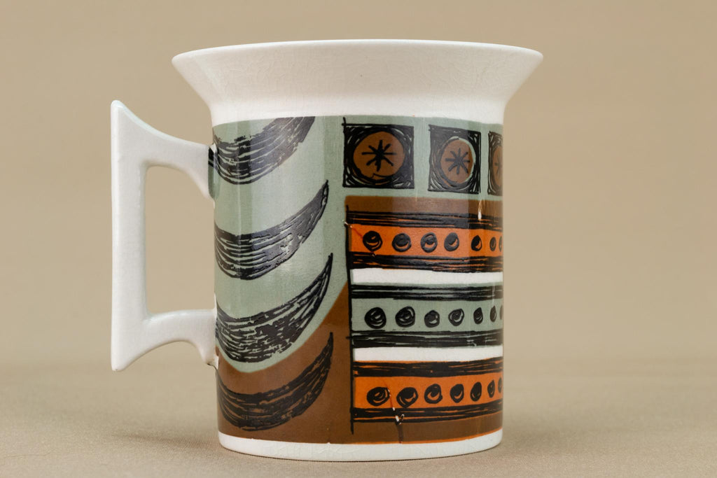 Coffee Cup and Saucer by Portmeirion, English 1960s