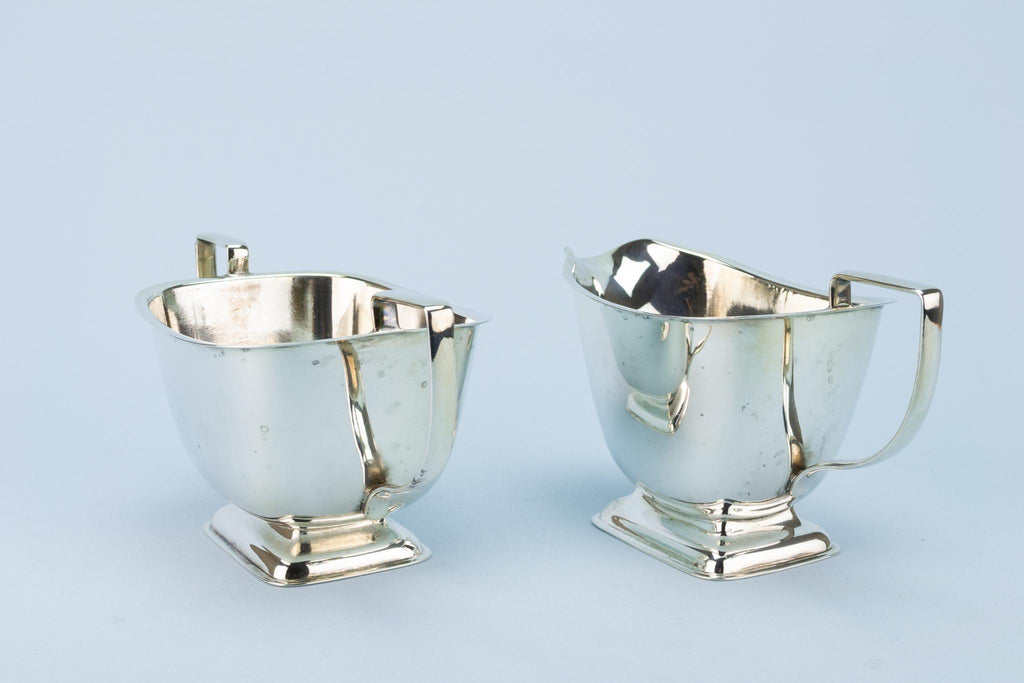 Silver Plated Tea Set Art Deco 1930s