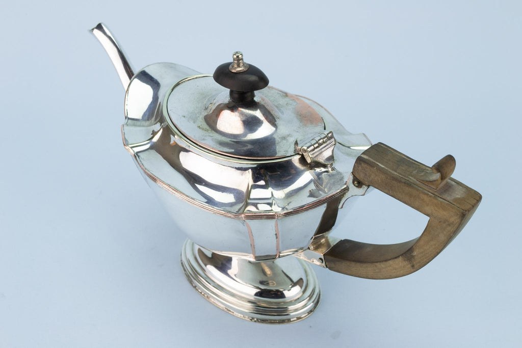 Silver Plated Tea Set English 1930s