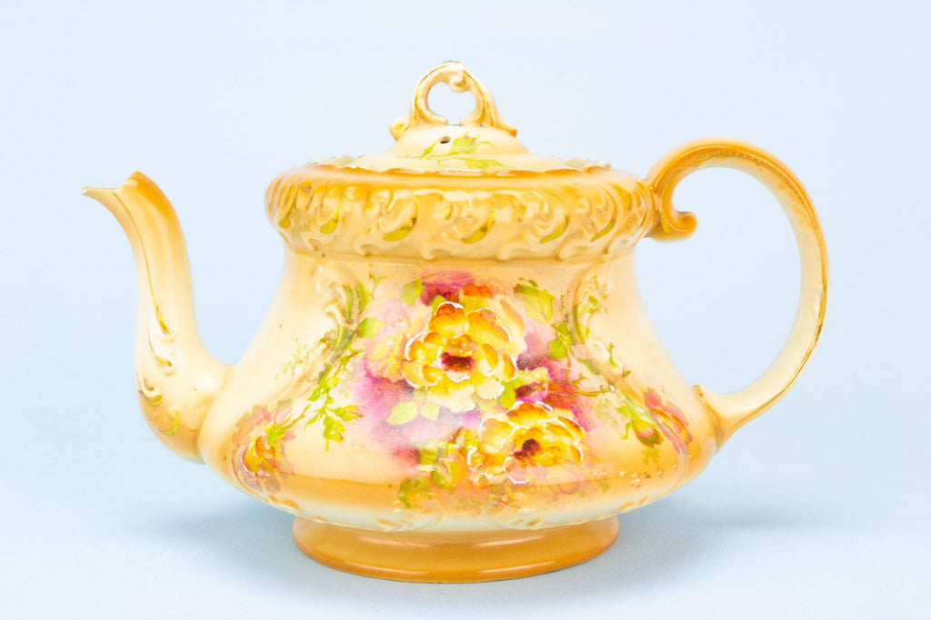 Art Nouveau Teapot, English Circa 1900