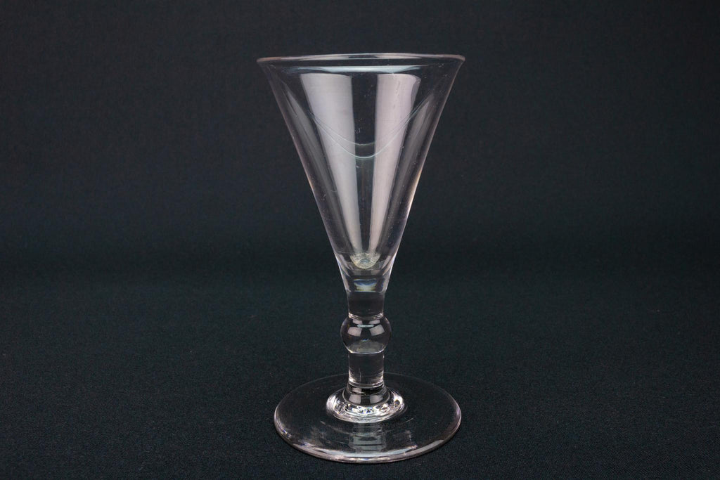 Dessert Wine Glass, English circa 1770