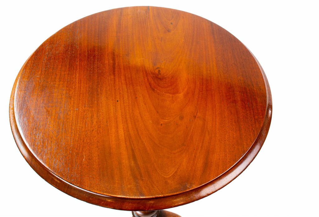 Mahogany Bobbin Tripod Table, English circa 1860