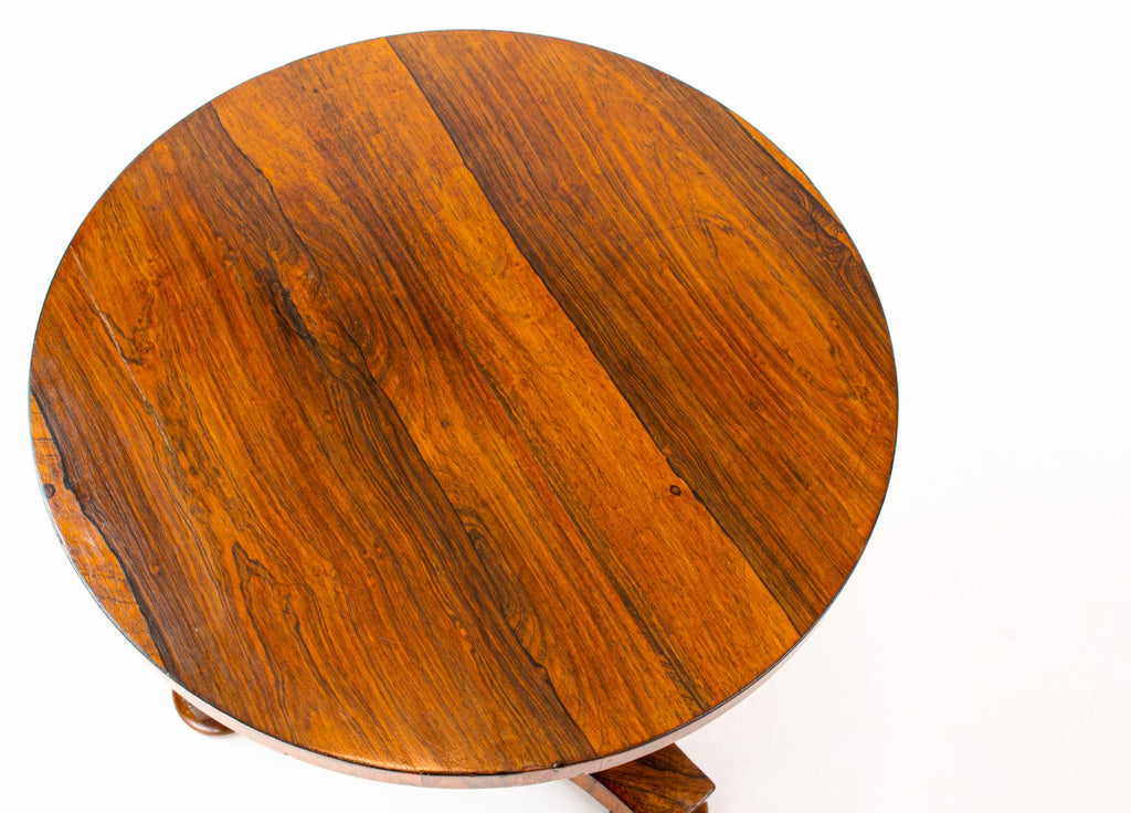 Small Rosewood Coffee Table, English 19th Century