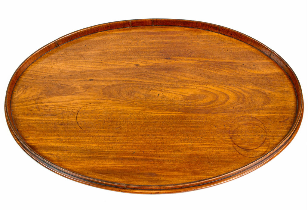 Large Mahogany Serving Tray, English circa 1800