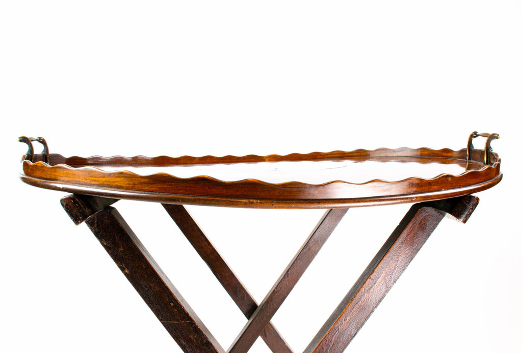 Large Mahogany Tray, English 18th Century
