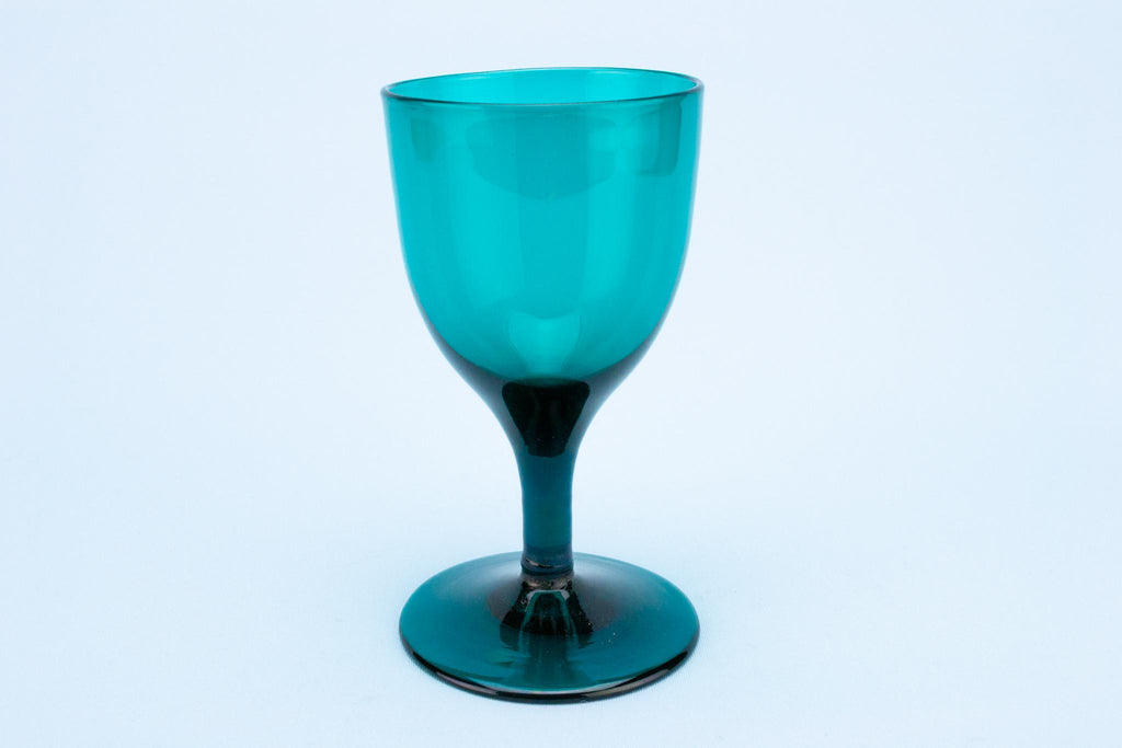 Small Green Wine Glass, English circa 1800