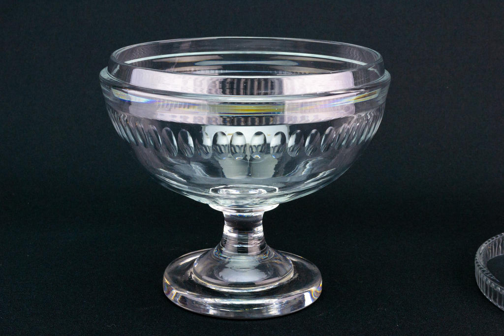 Regency Glass Bon Bon Dish, English Circa 1810