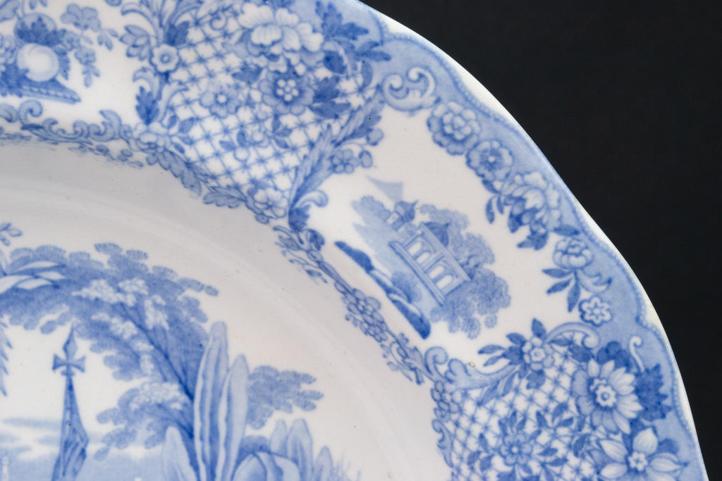 Blue and White Bowl, Dutch 19th Century