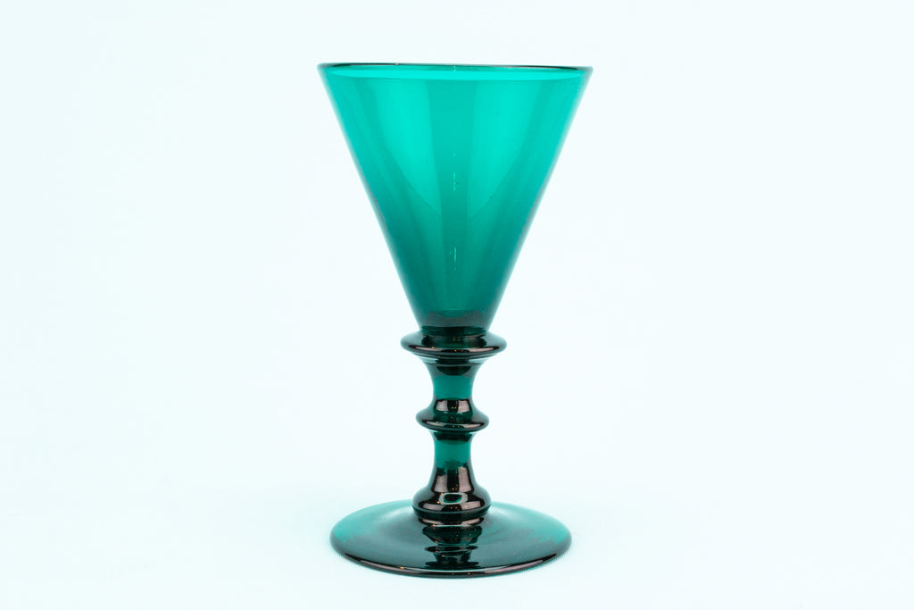 Green Wine Glass, English circa 1820