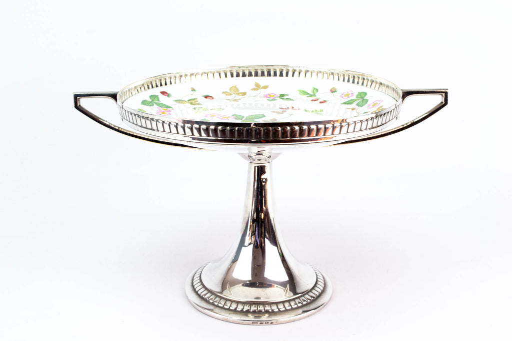WMF Cake Stand Silver Plated Tazza Early 1900s