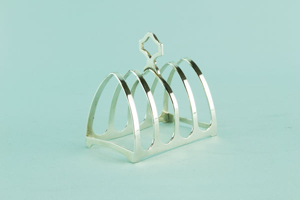 Walker & Hall silver toast rack