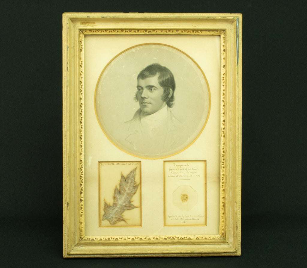 1855 Robert Burns Memorabilia Set